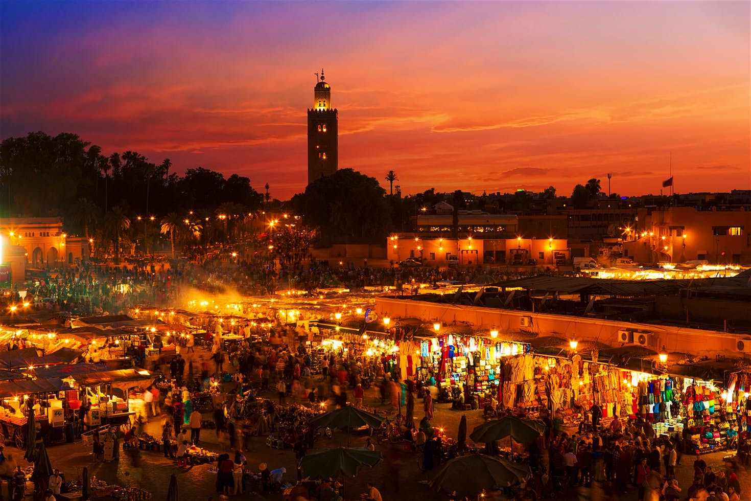 IM Tour 2018 : Marrakech : Jamaa El Fna Square