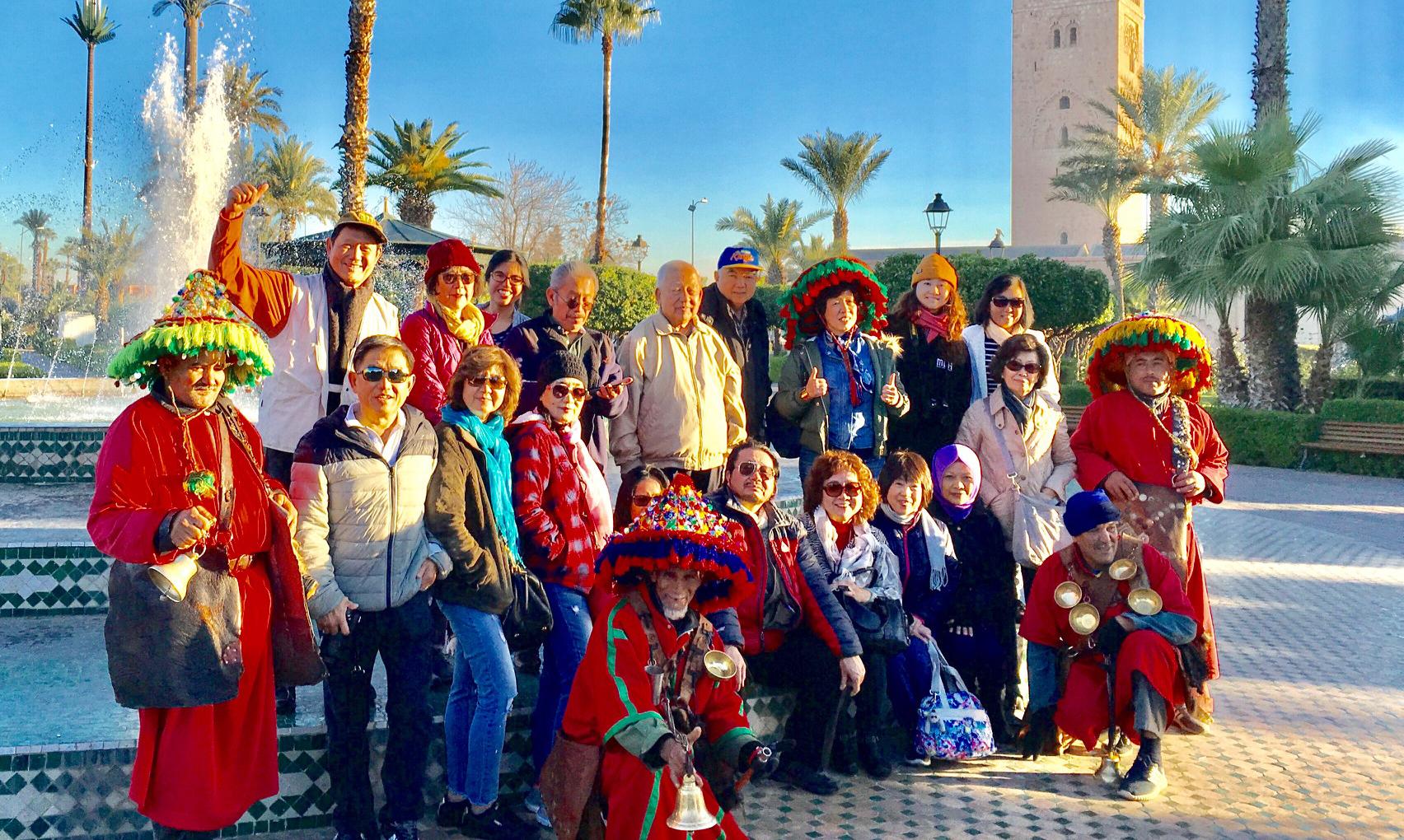 IM TOUR 2018: Medina Marrakech: Herboriste , Koutobia Mosque dan Bahia Palace.