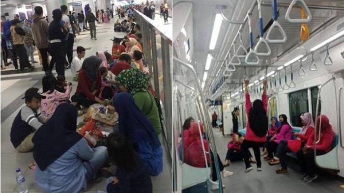 Anies Baswedan Minta Warga yang Piknik di Stasiun MRT Jangan Dihina, Ia Nilai Itu Proses Normal