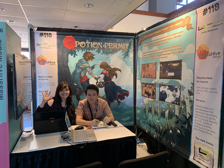 Archipelageek: Indonesia's Delegations on Game Connection America 2019.