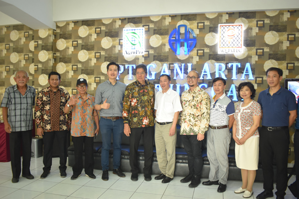 Cooperation on Business Data, Information Sharing to Develop Indonesian Export