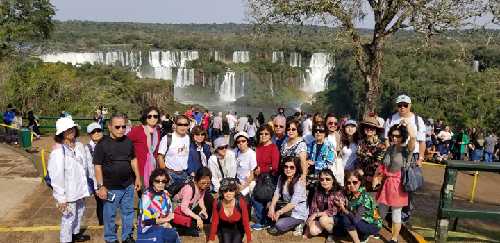 IM Tour 2019 Argentina : Iguazu Falls Brazil Side