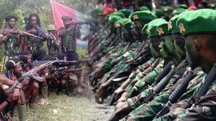 Bentrokan Senjata TNI dan KKB Papua Pimpinan Egianus Kagoya, 3 Tentara Kena Tembak