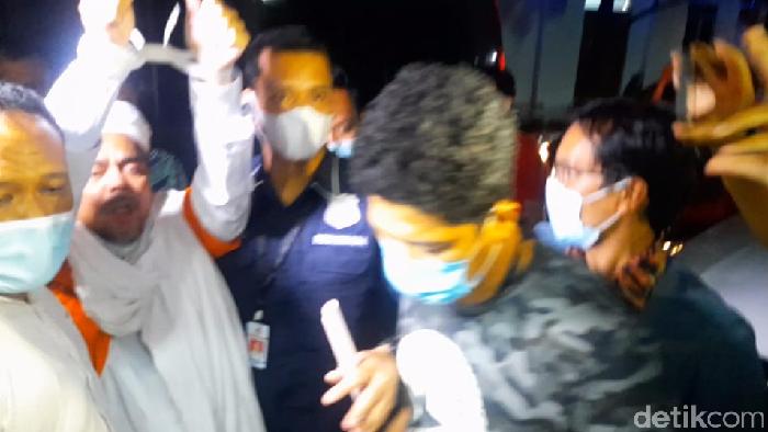 Habib Rizieq Resmi Ditahan Terkait Kasus Penghasutan Kerumunan