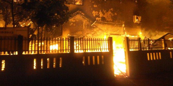 Mako Brimob Kelapa Dua Depok Kebakaran