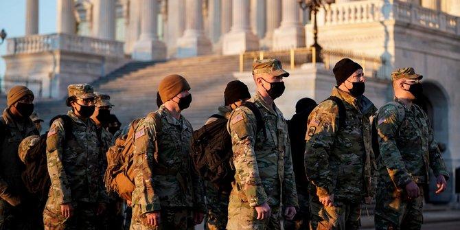 Khawatir Serangan dari Orang Dalam, FBI Periksa 25.000 Pasukan Garda Nasional