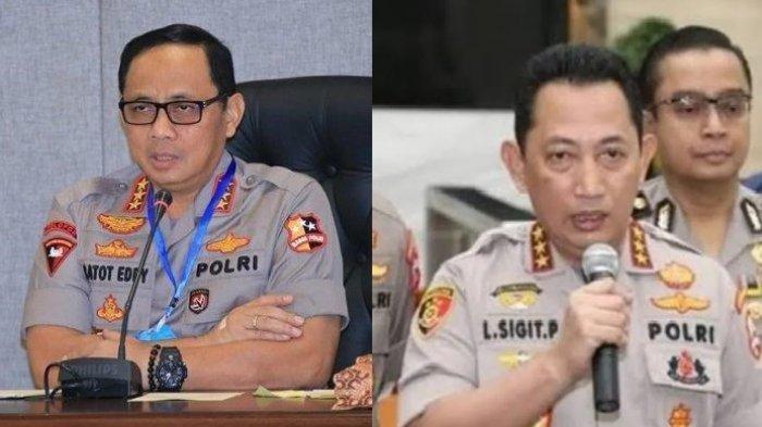 Update: Istana Akan Ajukan Paket Kapolri-Wakapolri yakni Komjen Gatot Eddy dan Listyo Prabowo?