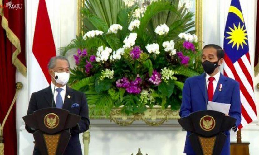 Presiden Jokowi dan PM Malaysia Bahas Perlindungan Pekerja Migran