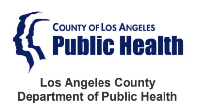 Arahan dari Departemen Kesehatan Los Angeles County