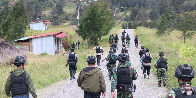 KKB Kembali Serang TNI-Polri saat Cek Lokasi Penganiayaan di Puncak Papua