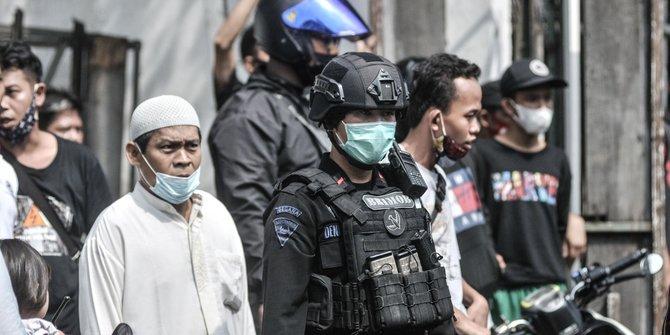 Fakta Penangkapan 4 Terduga Teroris di Condet & Bekasi, Sita 5 Bom Aktif & KTA FPI