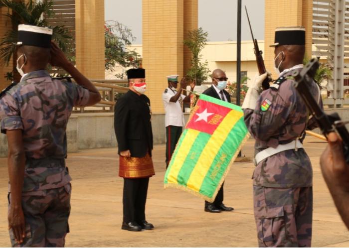 Duta Besar RI Serahkan Surat Kepercayaan Kepada Presiden Togo