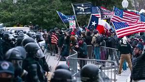 Setidaknya 100 Lagi Ditangkap Atas Kerusuhan di Gedung Kongres AS