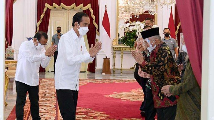 Amien Rais Trending Usai Temui Jokowi, Ia Bawa-bawa Neraka Jahanam, Netizen: Ingatkan Diri Sendiri?