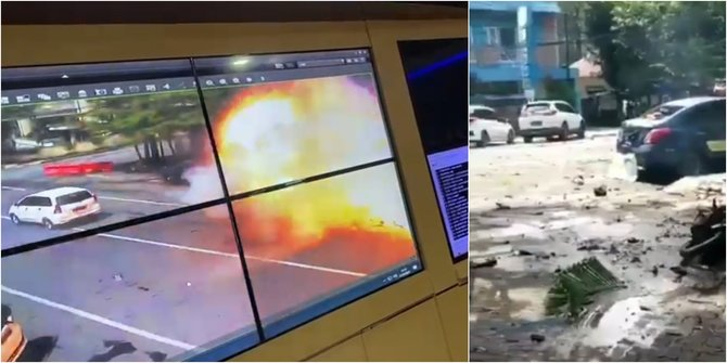 Ledakan Terjadi Depan Gereja Katedral Makassar, Ada Korban Jiwa