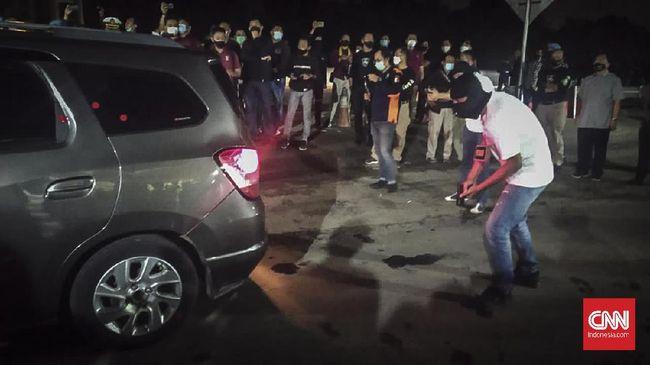 Baku Tembak di Tol Cikampek Berujung 6 Laskar FPI Tersangka