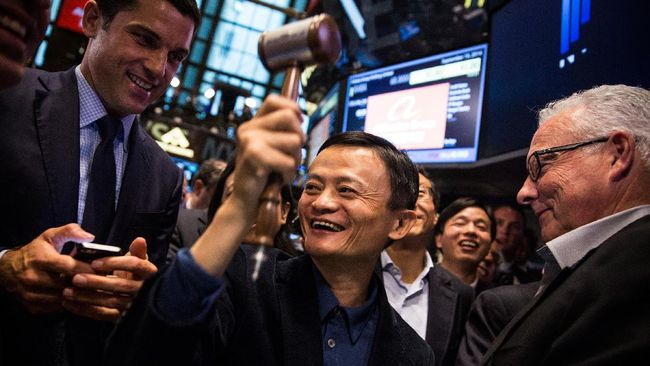 China Setop Pendaftaran Sekolah Bisnis Jack Ma