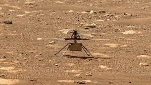 Kesalahan Menyebabkan Helikopter Mars Tak Terkendali
