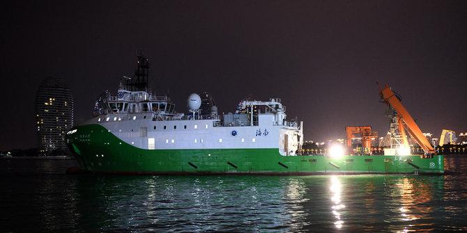 """Operasi Pengangkatan Nanggala-402, """"China Bisa Petakan Dasar Laut dan Pasang Sensor"""""""