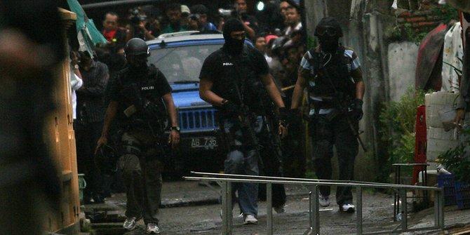 Polisi Tangkap Buron Terduga Teroris di Sukabumi