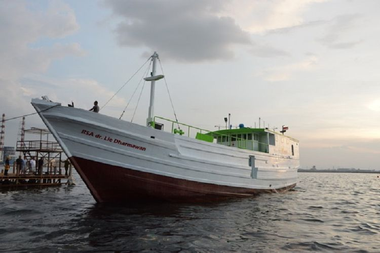 Cerita Penyelamatan Tim Medis Kapal RSA Dr Lie yang Dihantam Badai