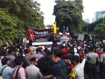TWK KPK dan Semarak Gedung Merah Putih, Jl. Kuningan Persada
