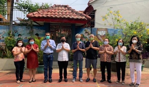 Buddhist School Suryadharma Development project is initiated