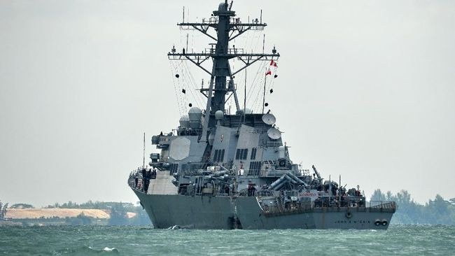 China Usir Kapal Perang AS karena Memasuki Laut China Selatan