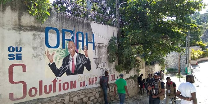Selubung Misteri di Balik Pembunuhan Presiden Haiti