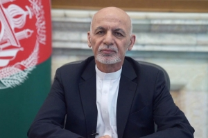 Afghan President Ashraf Ghani flees the country as Taliban forces enter the capital