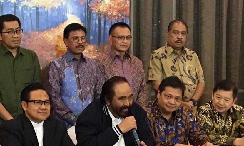 Jokowi Bertemu Tujuh Pimpinan Partai Koalisi Bahas Situasi Mutakhir