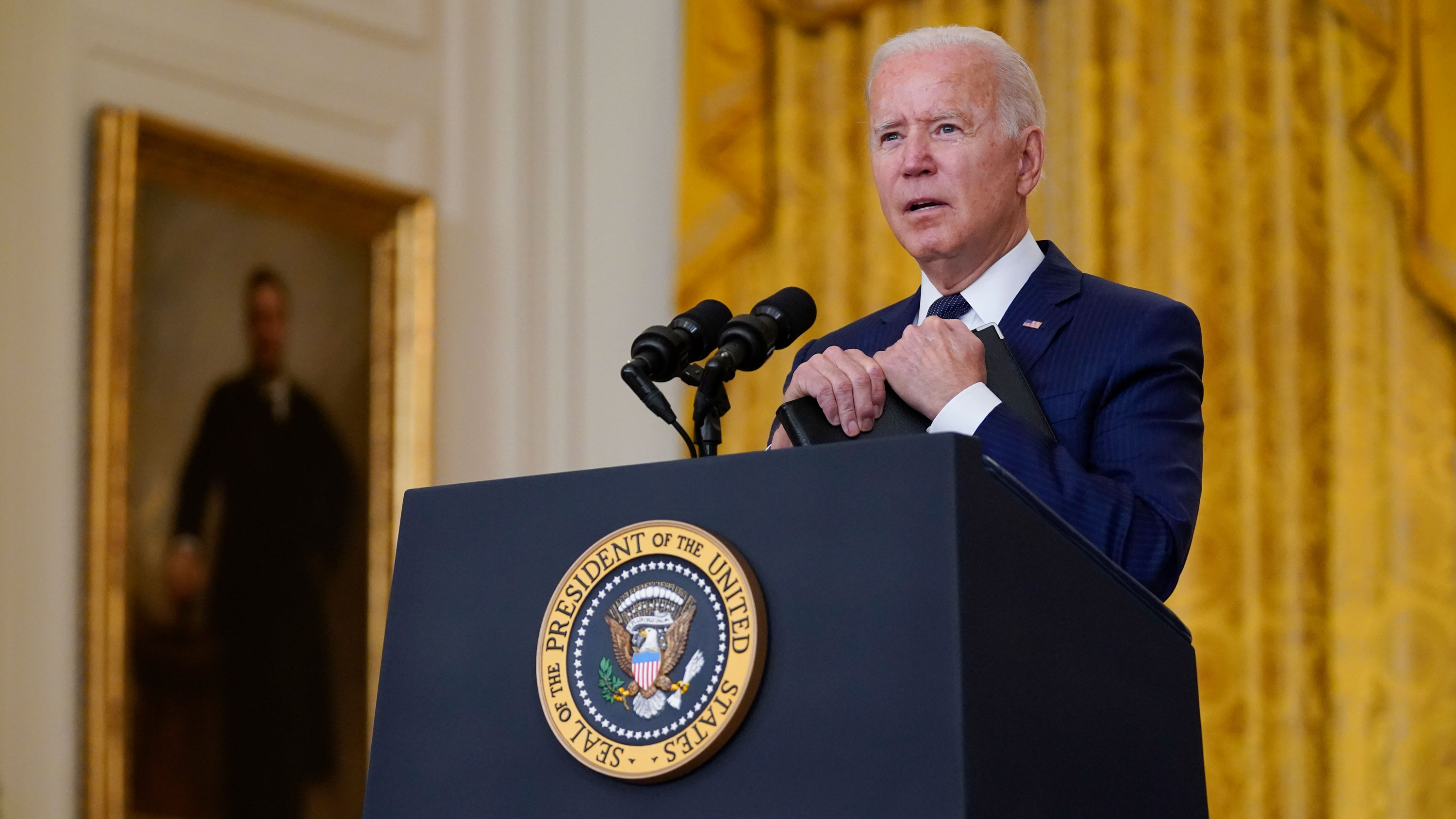 """Biden stands by decision to withdraw from Afghanistan: """"It was time to end a 20-year war"""""""