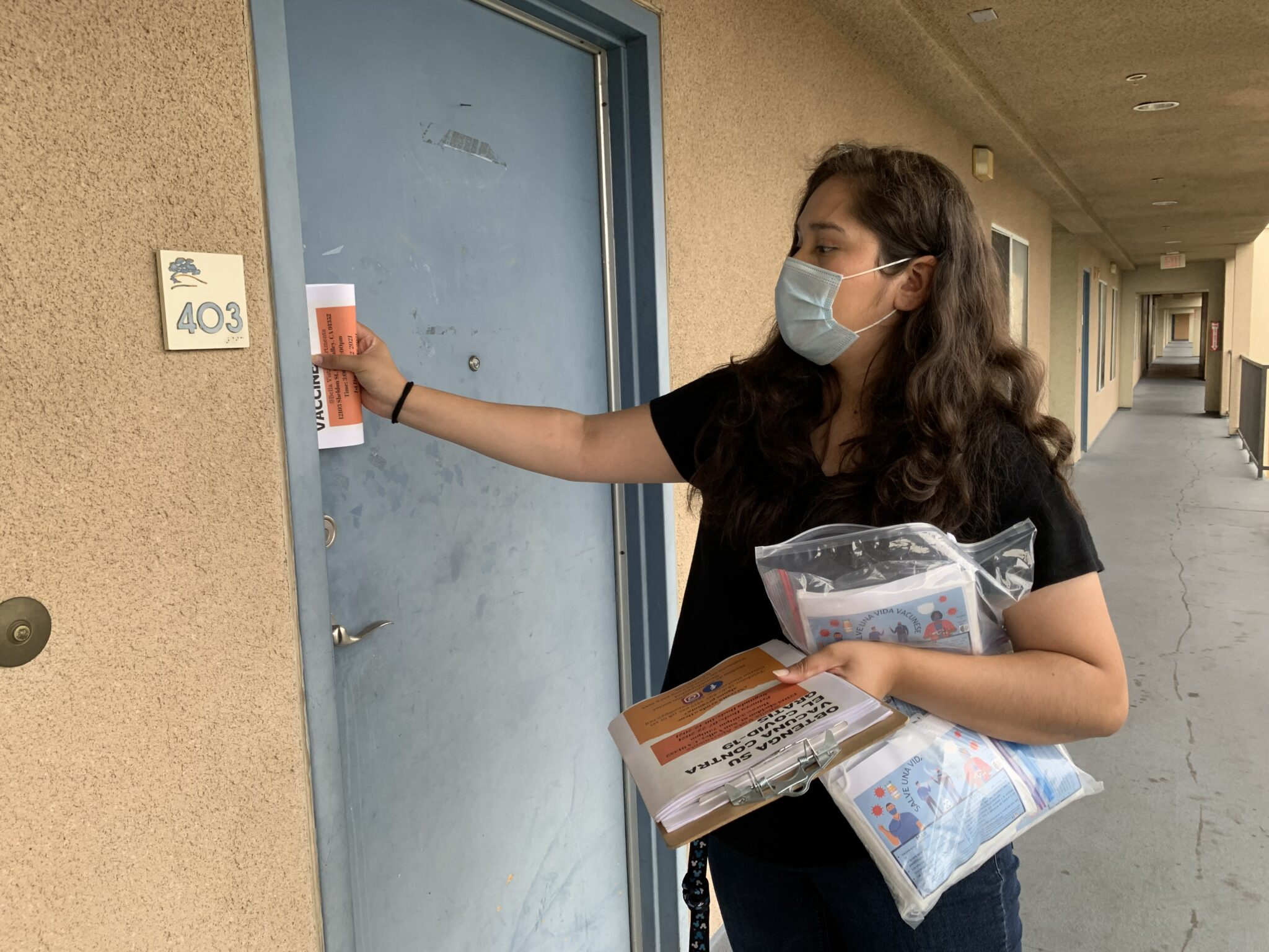 A DAY IN THE LIFE OF A VACCINATOR OUTREACH WORKER—20 SOMETHINGS LEAD THE CHARGE