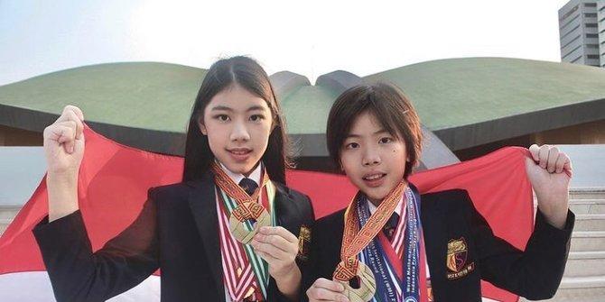 Bangga, Potret Kakak-Adik Asal Indonesia Berhasil Raih 32 Medali Olimpiade Matematika