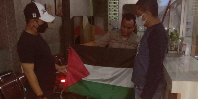 Polisi Minta Warga Tangerang Kibarkan Bendera Palestina Diganti Merah Putih
