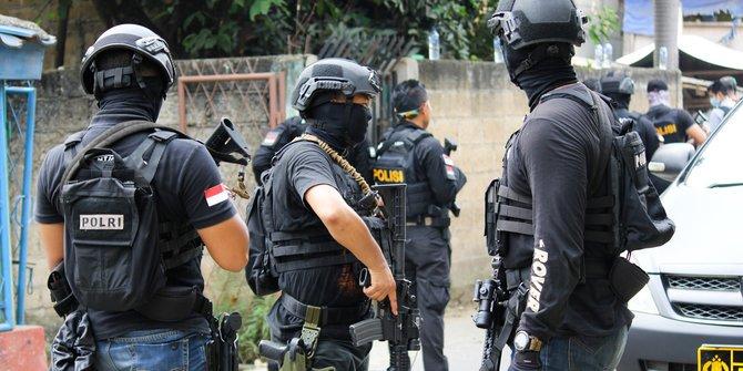Satu Terduga Teroris yang Ditangkap di Bekasi Pernah Diamankan Tahun 2004