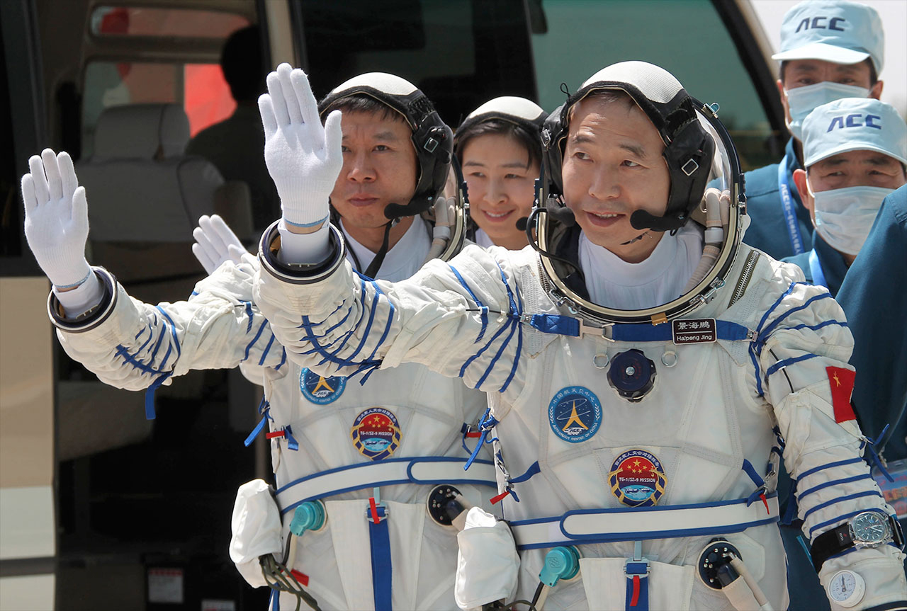 China launches 6-month crewed mission as it cements position as global space power
